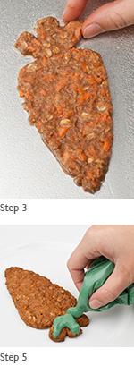 Carrot Cookies preparation