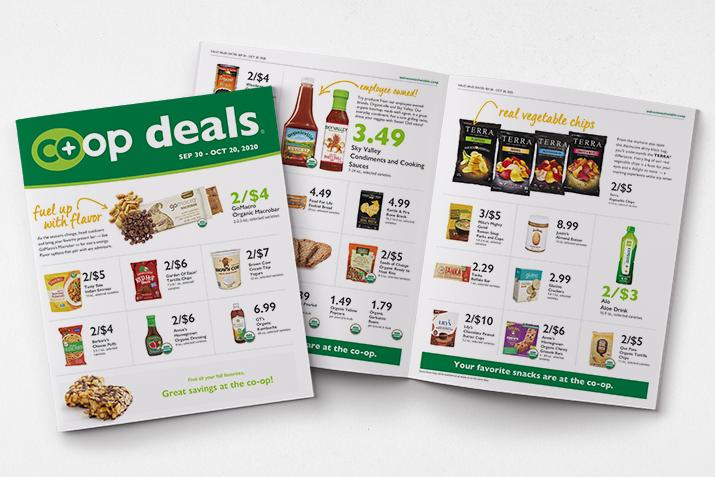 Co+op Deals sales flyer for Sep 30-Oct 20, 2020