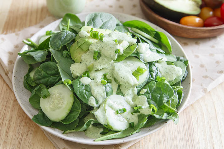how to make a great green salad