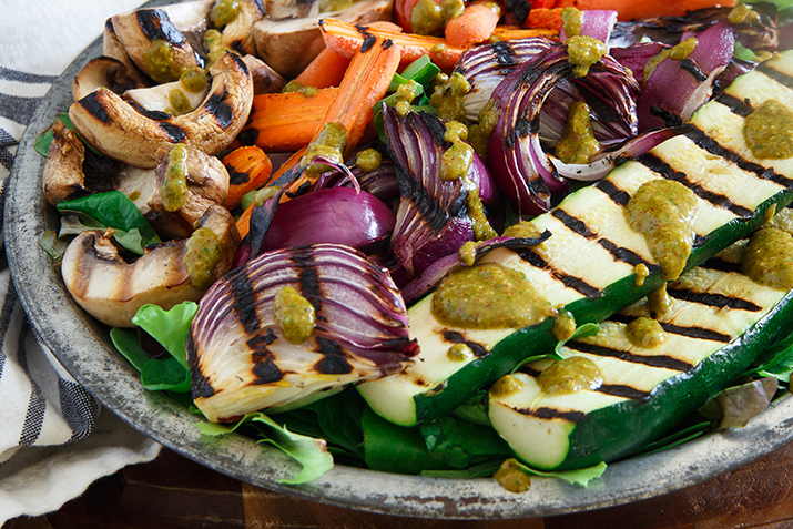 Grilled Veggies with Smoked Paprika Vinaigrette Co+op, stronger