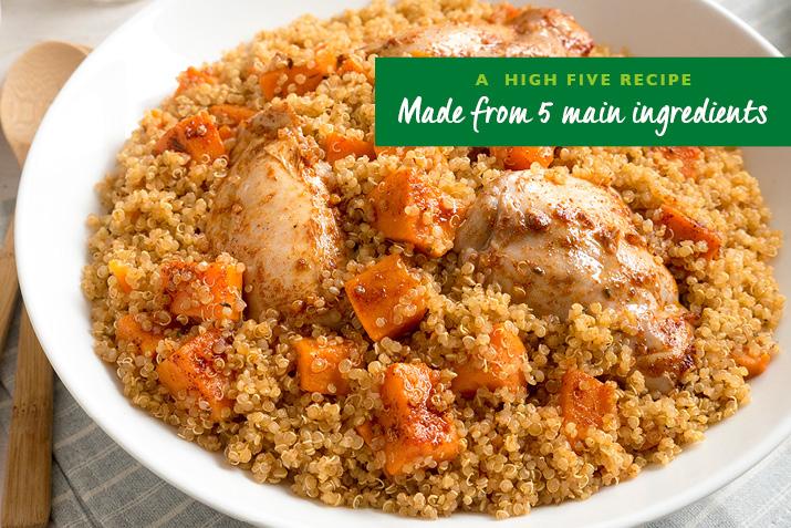 Jamaican Chicken and Quinoa