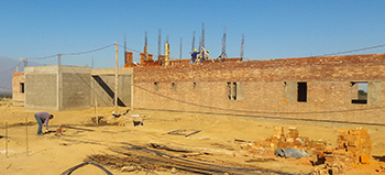 La Riojana health care clinic construction