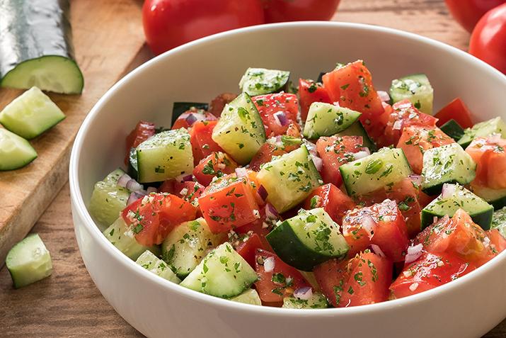 Cucumber Salad Recipe Tomato