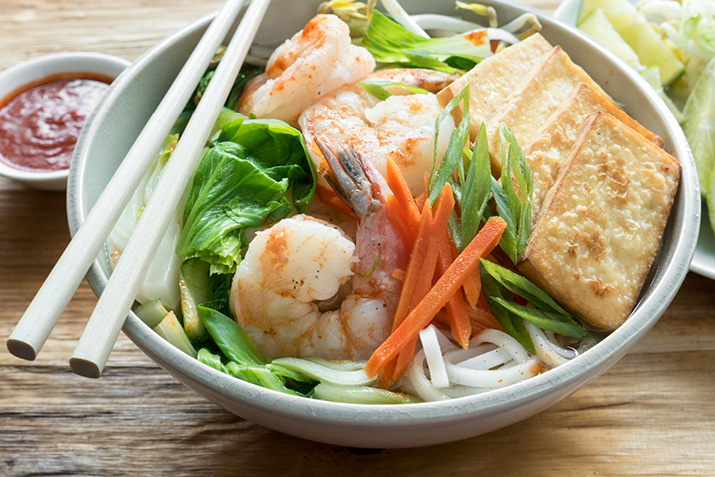 Pho with Shrimp