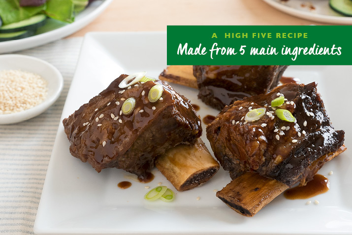Slow-Cooker Teriyaki Beef Ribs