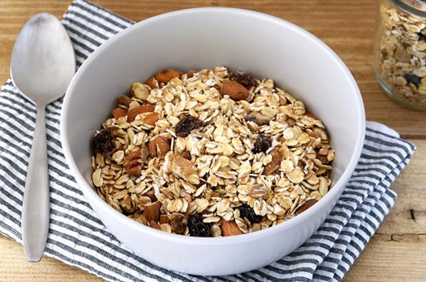 Bowl of Baked Muesli