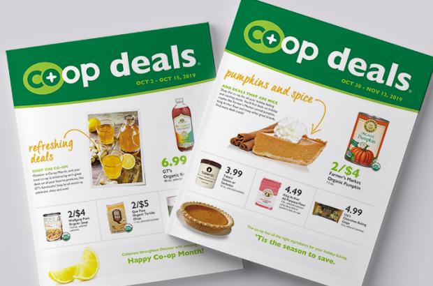 Co+op Deals Oct, Nov 2019 Flyer Covers