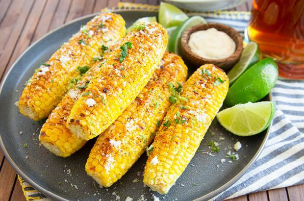 Elotes - Mexican Street Corn