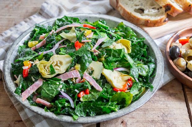 Kale Antipasto Salad