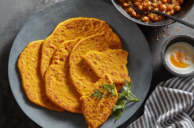 Pumpkin Naan
