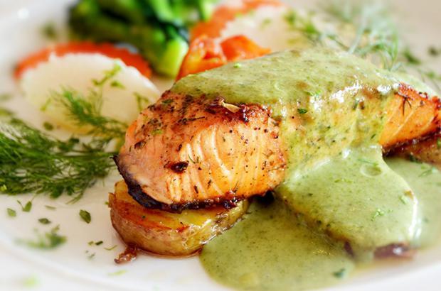 Salmon Chermoula
