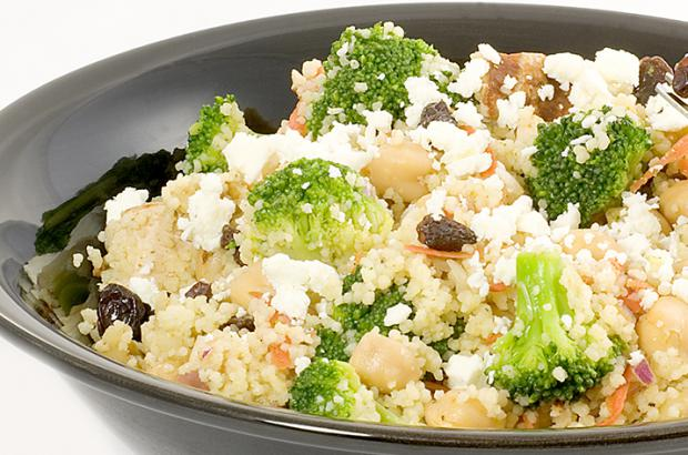 Spiced Broccoli Couscous Salad