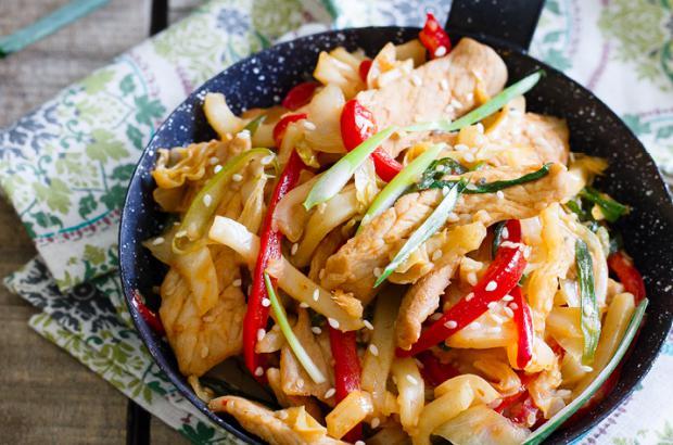Spicy Korean Pork Stir Fry