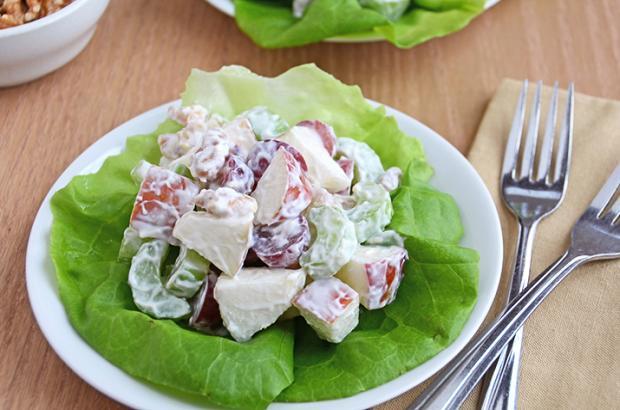 Waldorf Salad on Bibb Lettuce