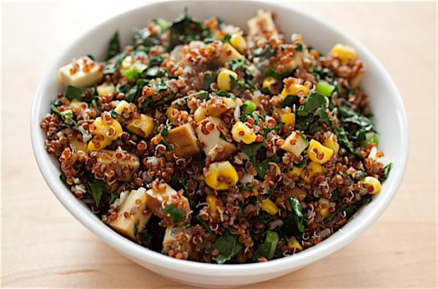 Quinoa Salad with Sweet Potatoes and Peppers Recipe | Co ...