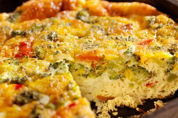 Mushroom & Wild Rice Frittata Recipe | Co+op, stronger ...