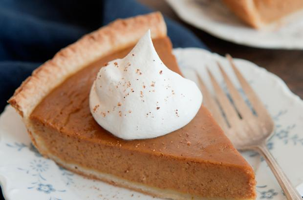 Frozen Pumpkin Mousse Pie Recipe | Co+op, stronger together