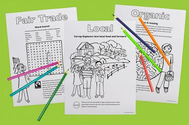 Co+op Explorers Coloring and Activity Sheets