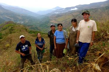 Fair Trade Has a Key Role to Play with Climate - Norandino Cooperative Members in Peru