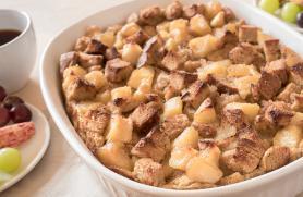 Apple Maple French Toast Bake