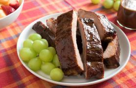 Baby Back Ribs with Maple-Mustard Glaze