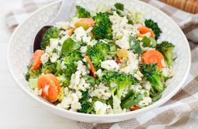 Brown Rice Broccoli Salad