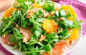 Citrus and Arugula Salad with Balsamic Dressing