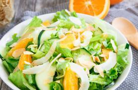 Coconut Tangerine Salad