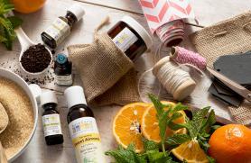 DIY Body Scrub with Essential Oils