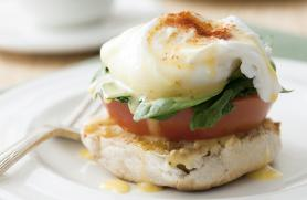 Eggs Benedict with Spinach