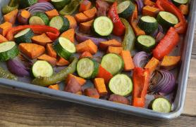 Mediterranean Roasted Vegetables