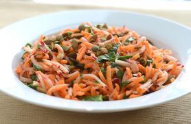 Moroccan Carrot Radish Salad