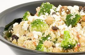 "Spiced Broccoli ""Couscous"" Salad"