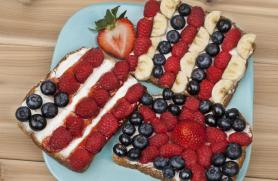 Stars and Stripes Sandwiches