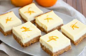 Tangerine Ricotta Bars