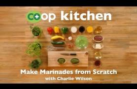 Make Marinades from Scratch