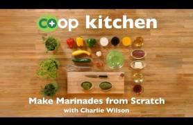 Make Marinades from Scratch