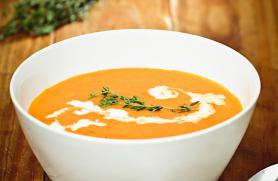 Butternut Apple Bisque