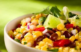 Corn and Kidney Bean Salad