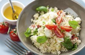 Couscous with Feta and Toasted Pine Nuts