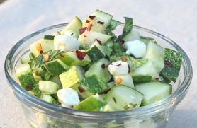 Cucumber Salsa with Feta