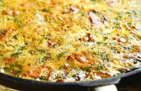 Green Enchilada Pie