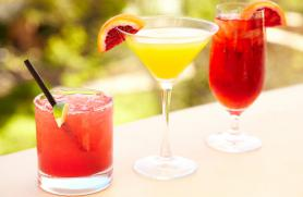 Seasonal Cocktails and Other Beverages