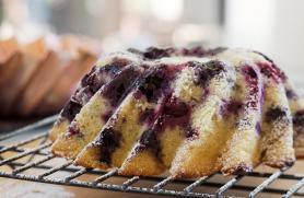 Sour Cream Coffee Cake with Blueberries