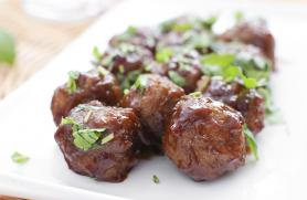 Sweet and Sour Vegetarian Meatballs