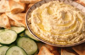 Spicy Roasted Garlic Hummus