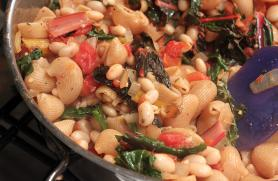 White Bean & Chard Pasta Salad
