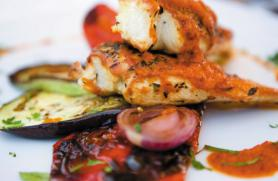 Grilled Chicken with Roasted Red Pepper Coulis