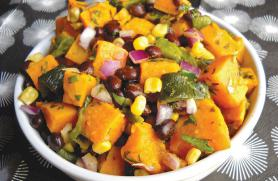 Orange Chipotle Dressing with Sweet Potato Salad