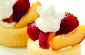 Peaches and Chantilly Cream